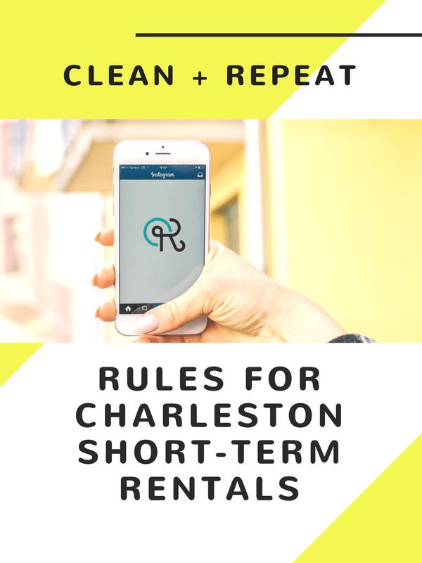 Image of SHORT-TERM RENTAL CHARLESTON RULES