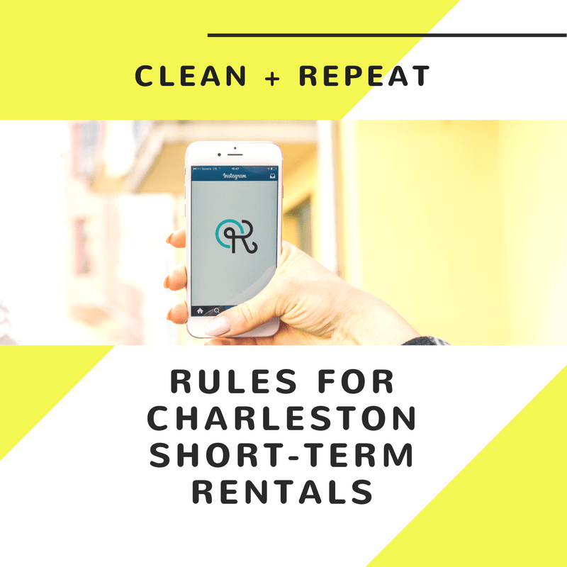 Image of SHORT-TERM RENTAL CHARLESTON RULES