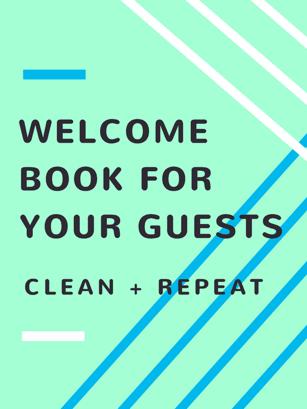 Image of WELCOME & HOME GUEST BOOK
