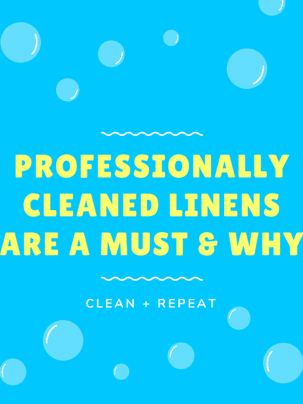 Image of PROFESSIONALLY CLEAN YOUR LINENS